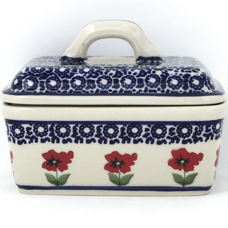 Butter Box in Red Daisy
