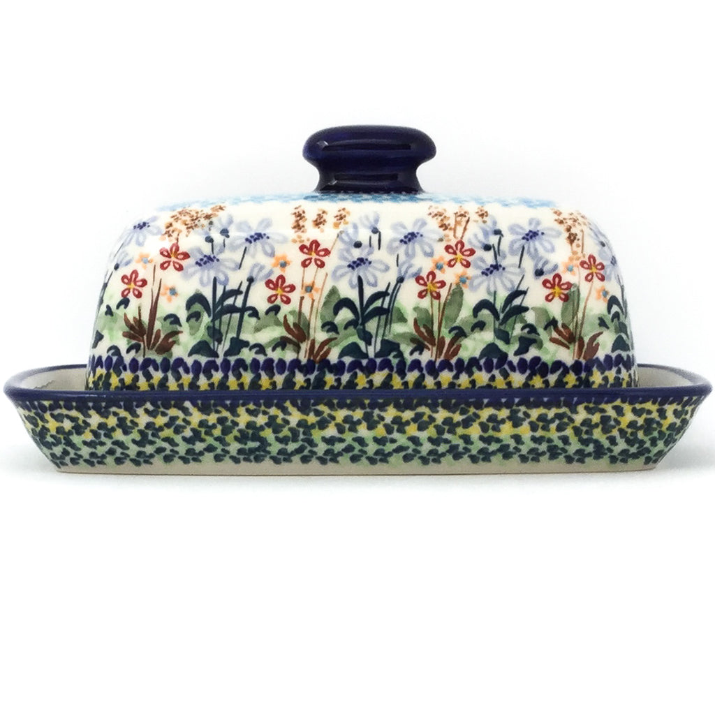 Butter Dish in Country Spring