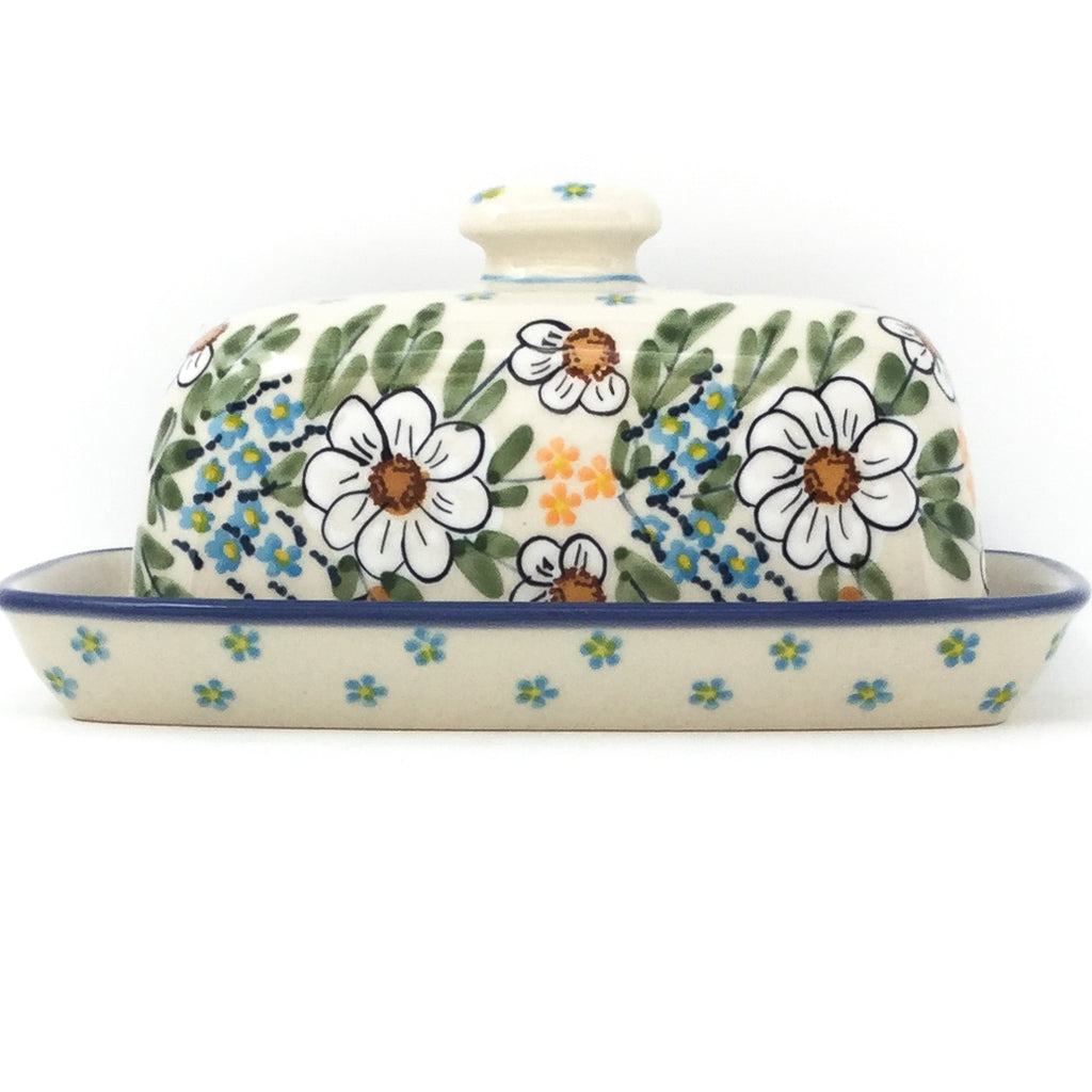 Butter Dish in Spectacular Daisy