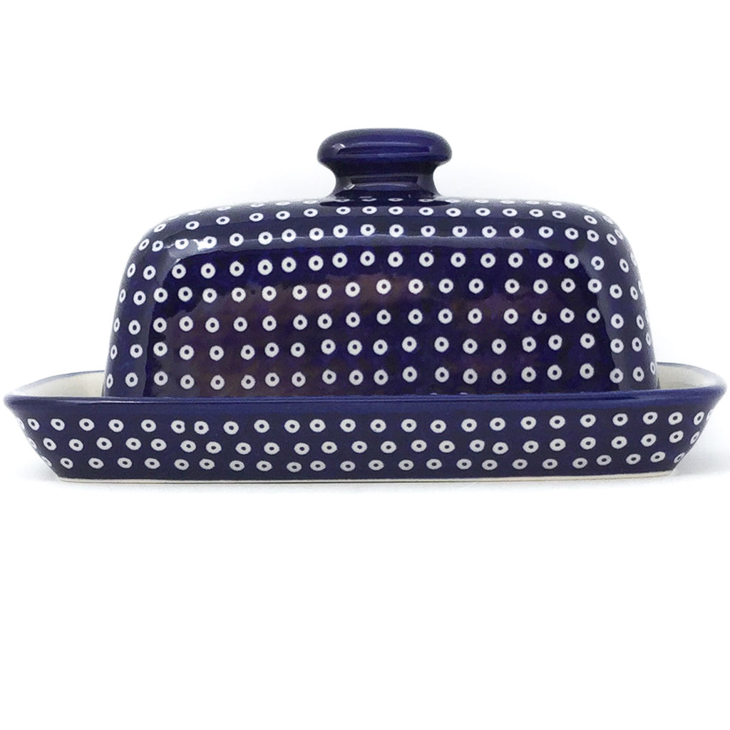 Butter Dish in Blue Elegance