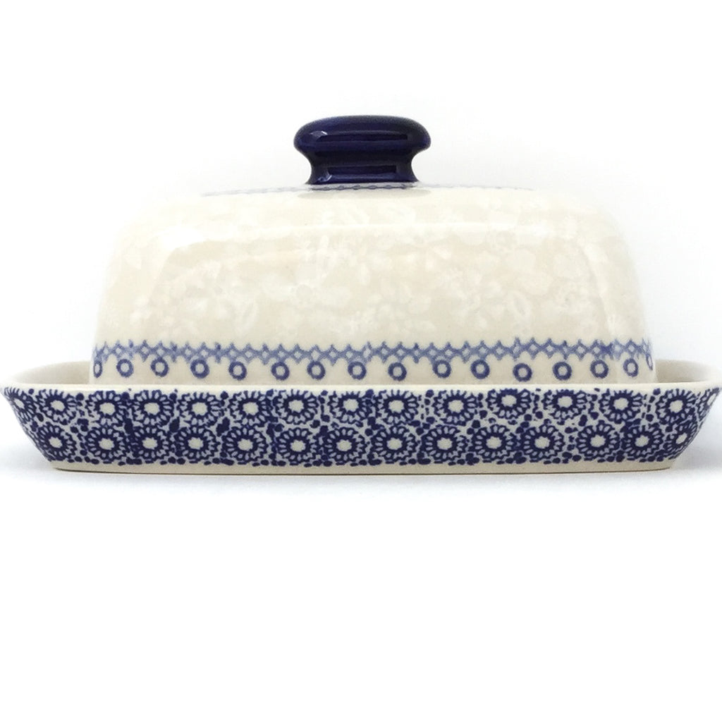 Butter Dish in Delicate Blue