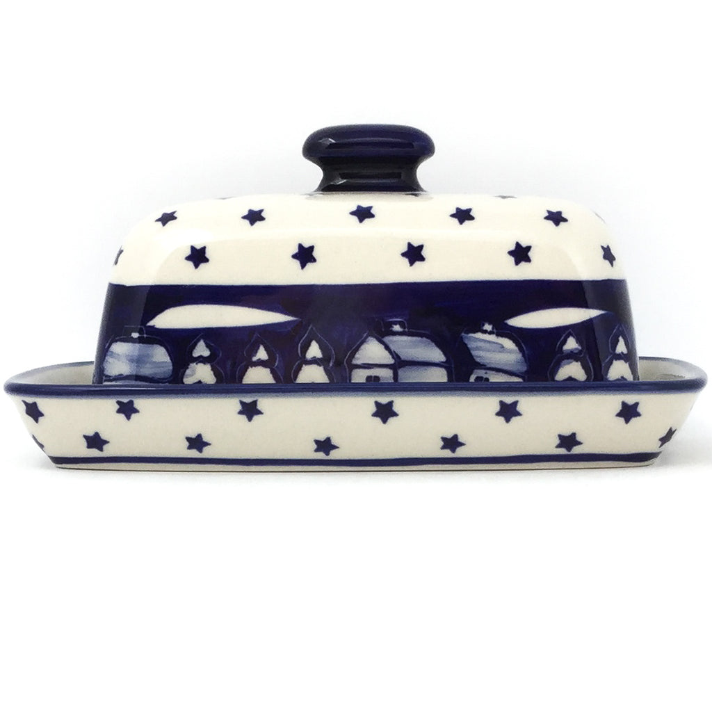 Butter Dish in Winter