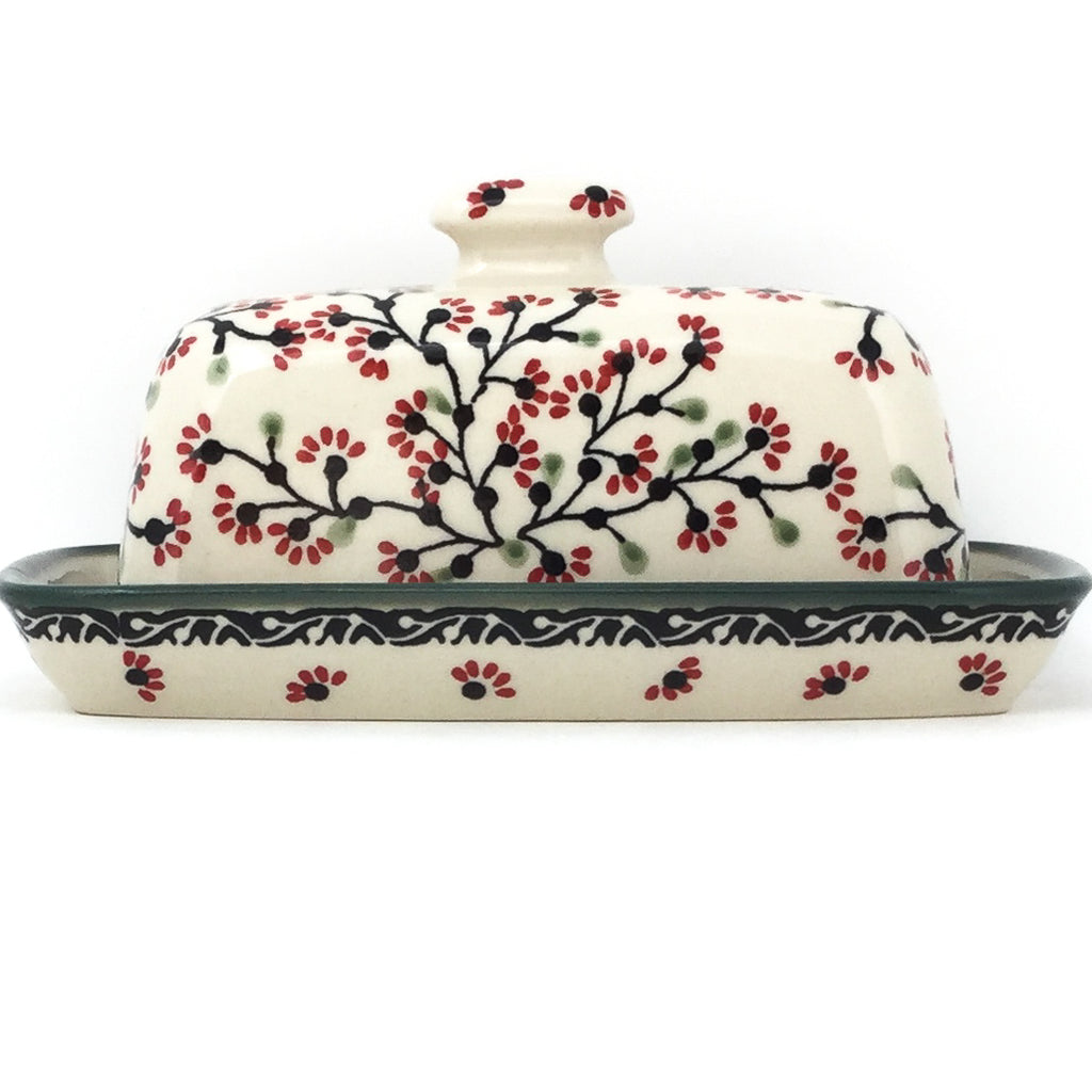 Butter Dish in Japanese Cherry