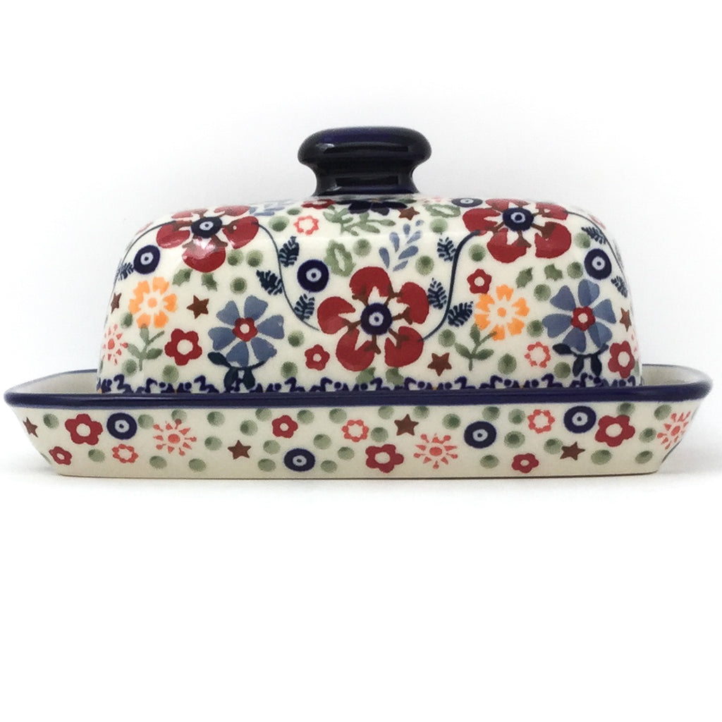 Butter Dish in Summer Arrangement