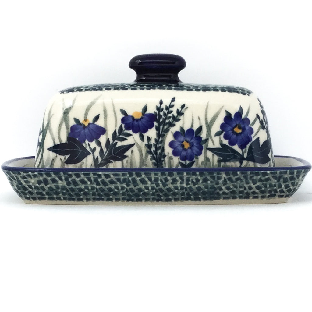 Butter Dish in Wild Blue