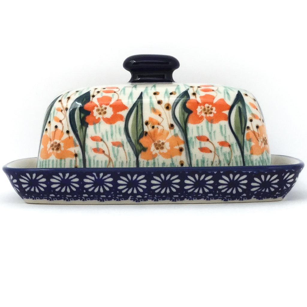 Butter Dish in Sunshine Meadow