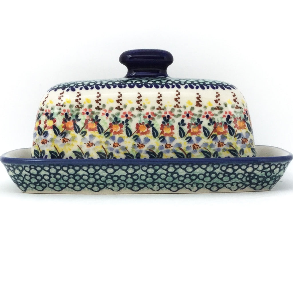 Butter Dish in Country Fall