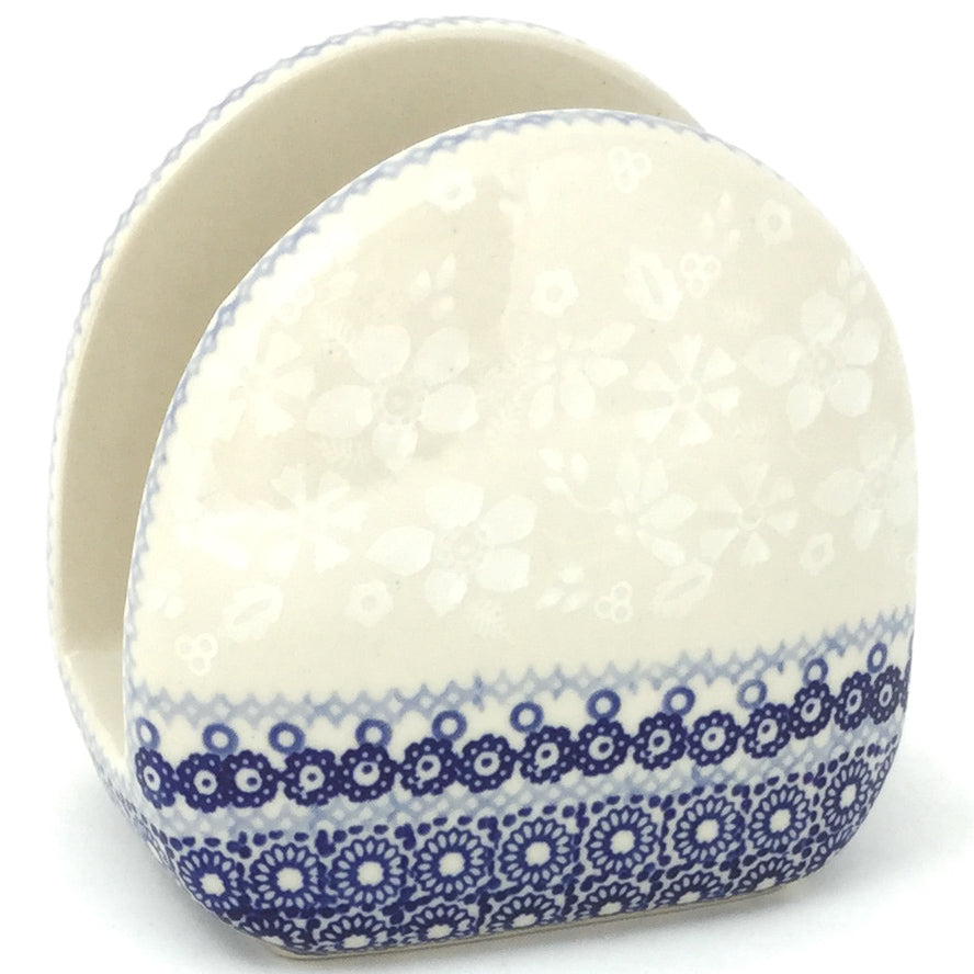 Napkin Holder in Delicate Blue