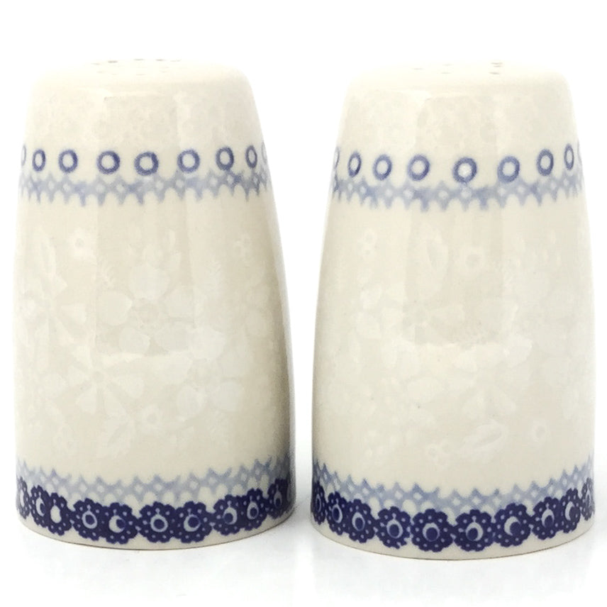 Salt & Pepper Set in Delicate Blue