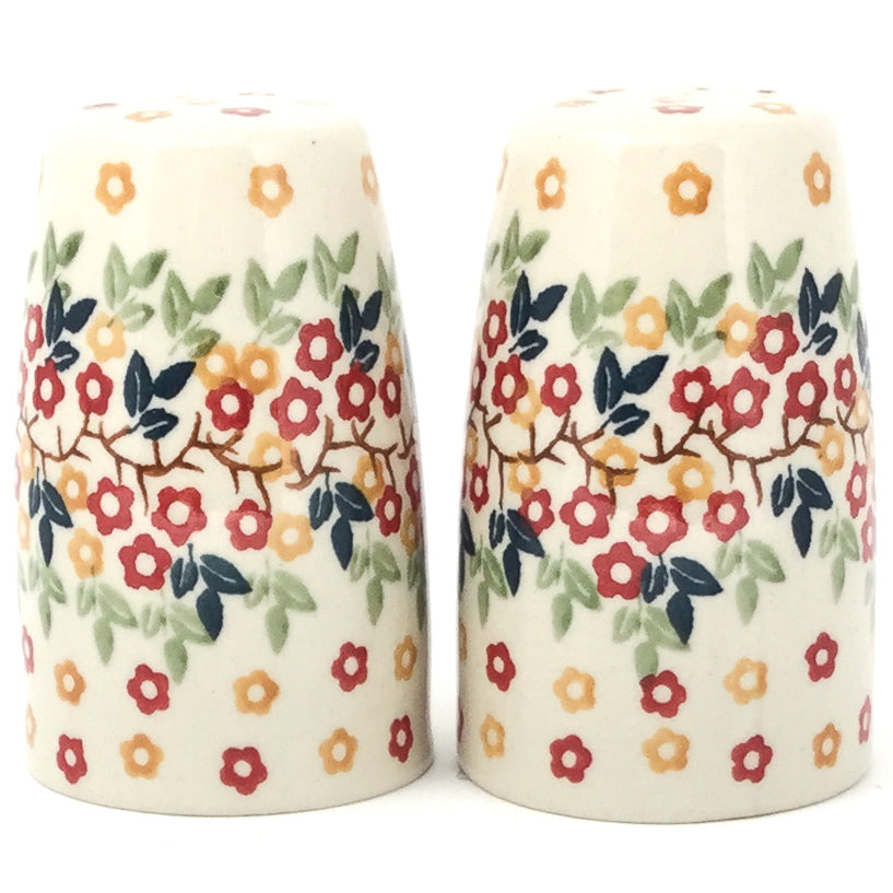 Salt & Pepper Set in Tiny Flowers