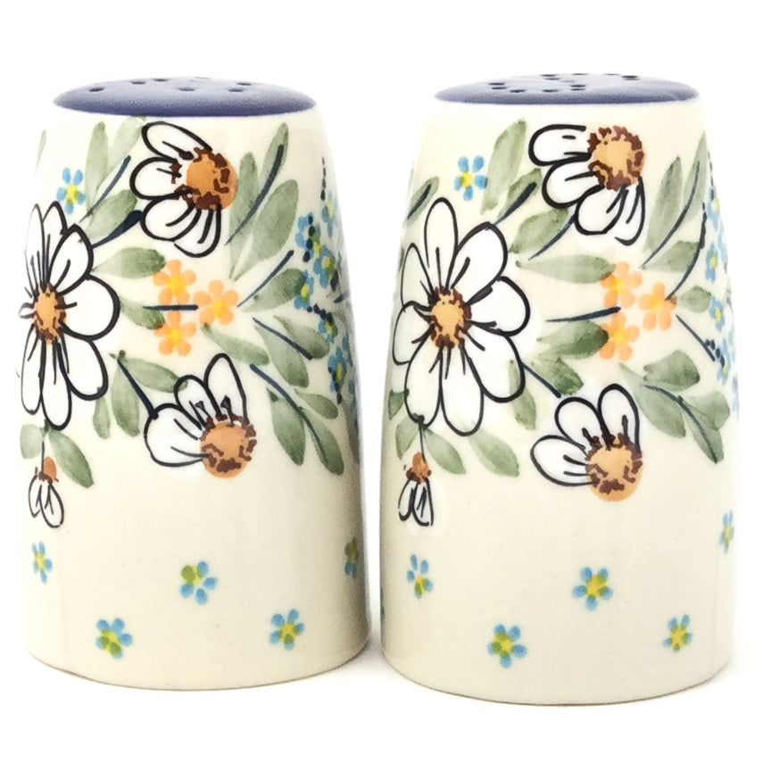 Salt & Pepper Set in Spectacular Daisy