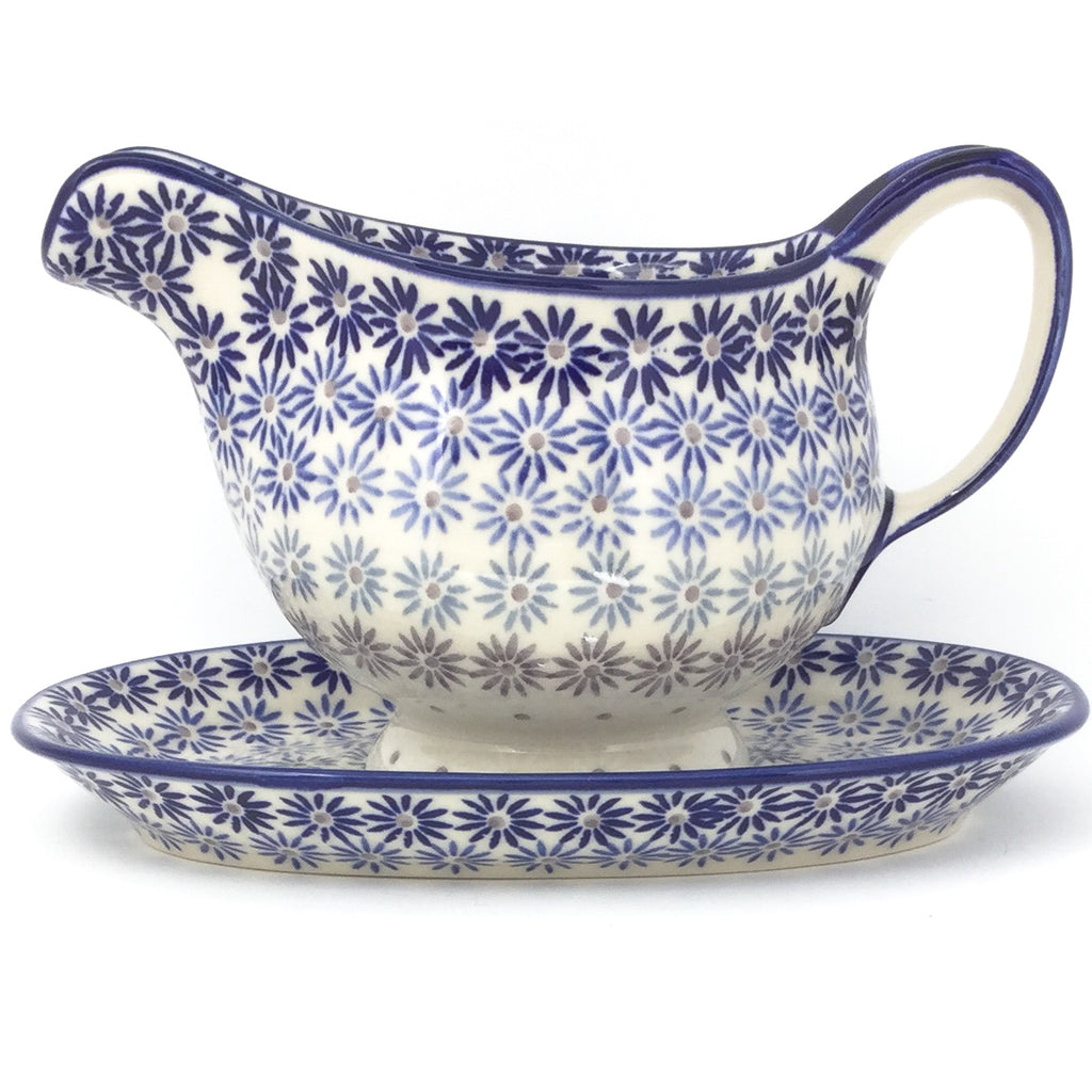 Gravy Boat w/Tray 1 qt in All Stars