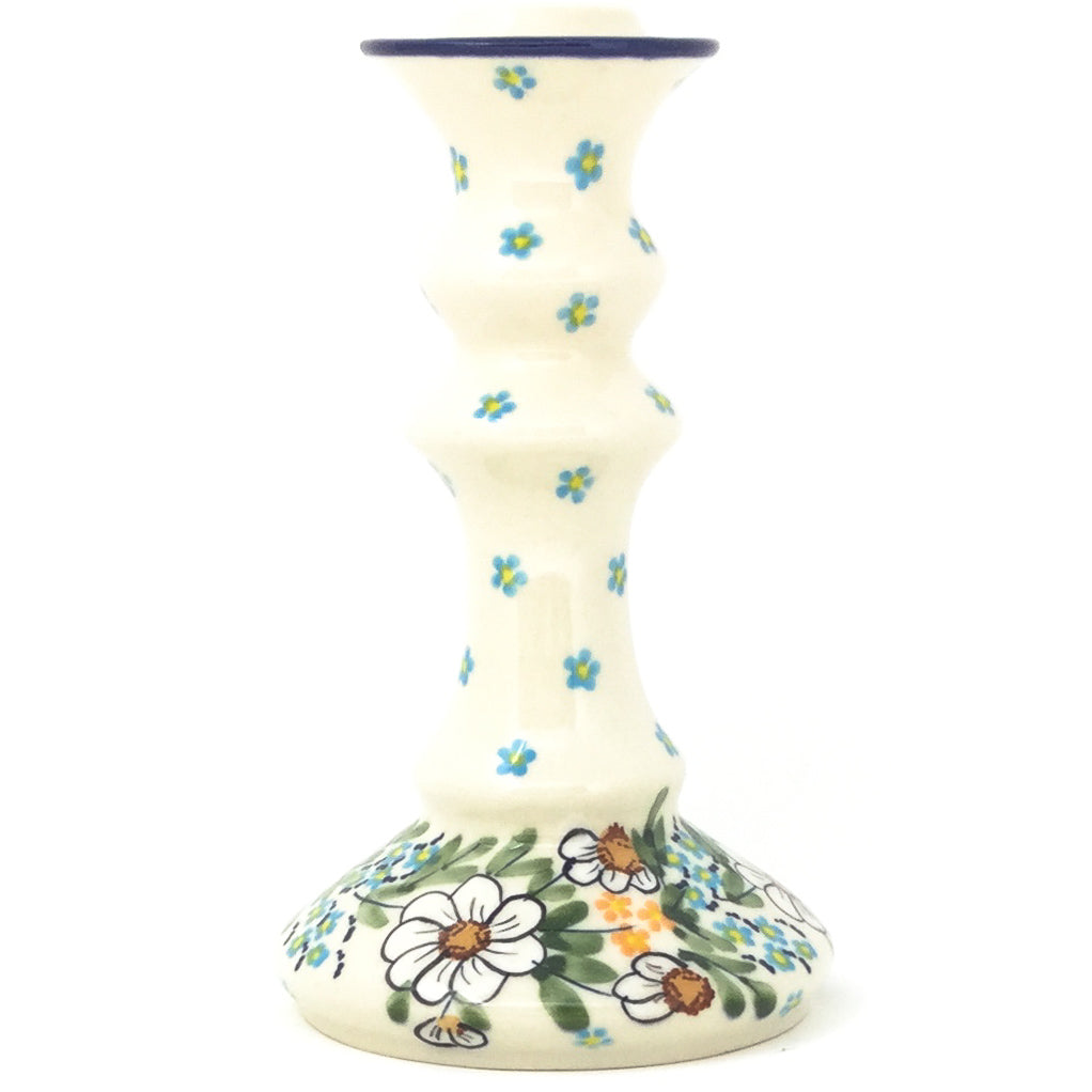 Tall Candle Holder in Spectacular Daisy