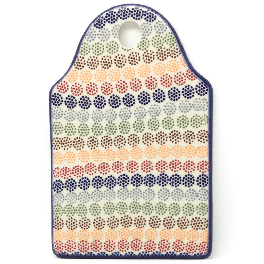 Cutting Board in Modern Dots
