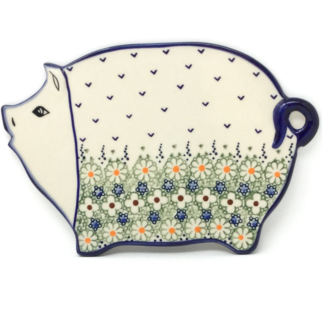Piggy Cutting Board in Spring