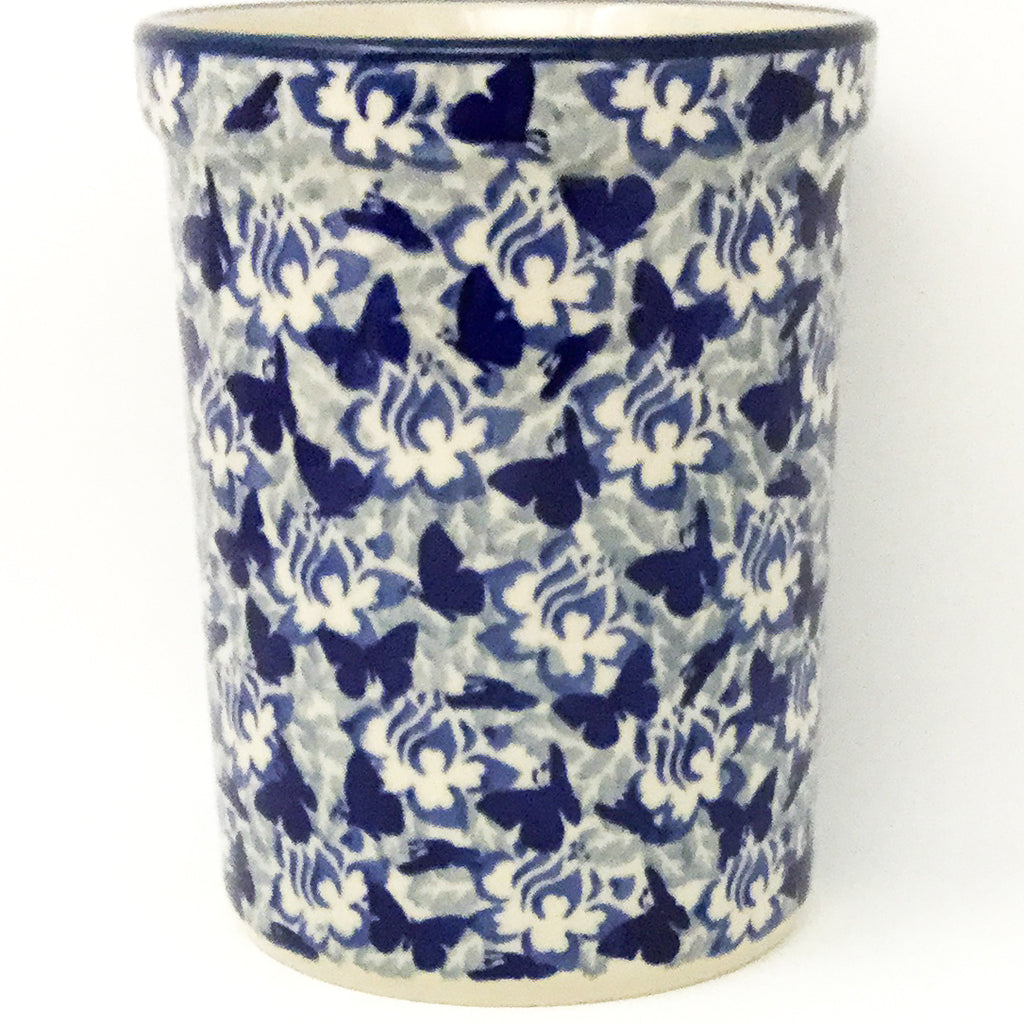 Utensil Holder 2 qt in Blue Butterfly