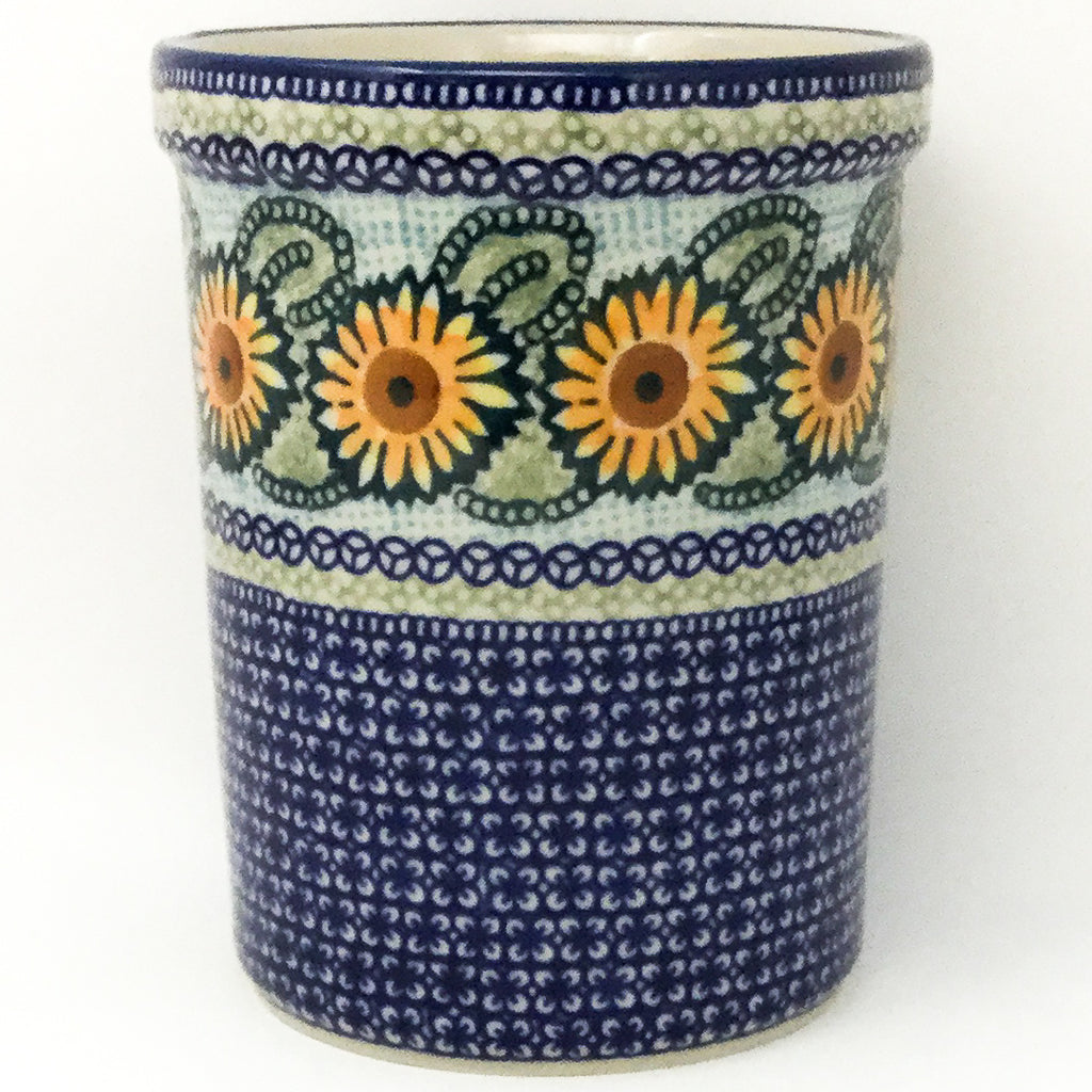 Utensil Holder 2 qt in Sunflowers