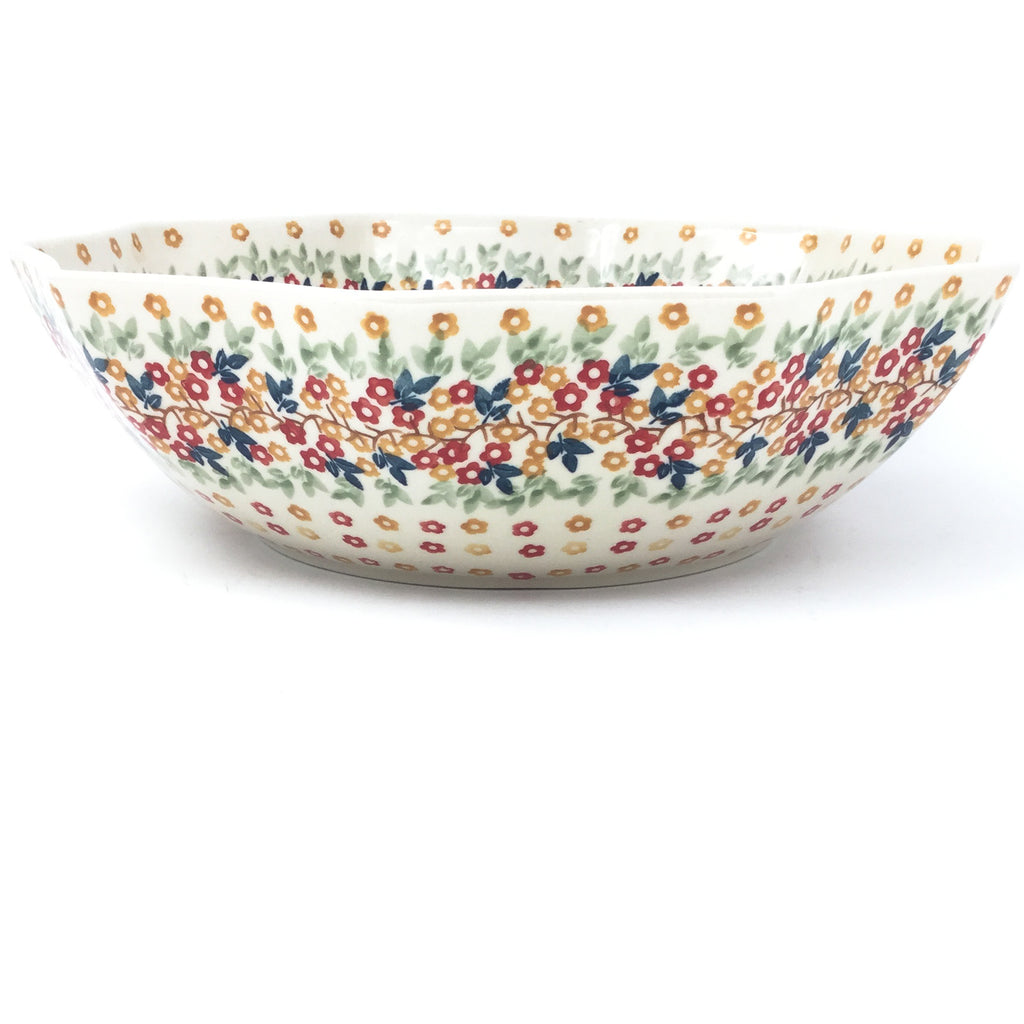 Lg New Kitchen Bowl in Tiny Flowers