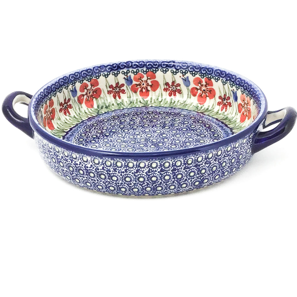 Round Baker w/Handles in Spring Meadow