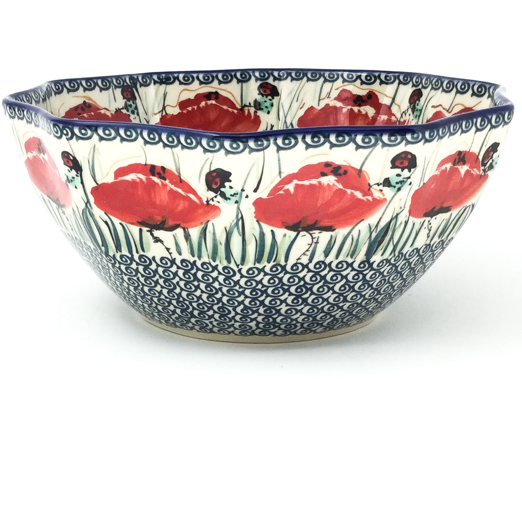 Sm New Kitchen Bowl in Polish Poppy