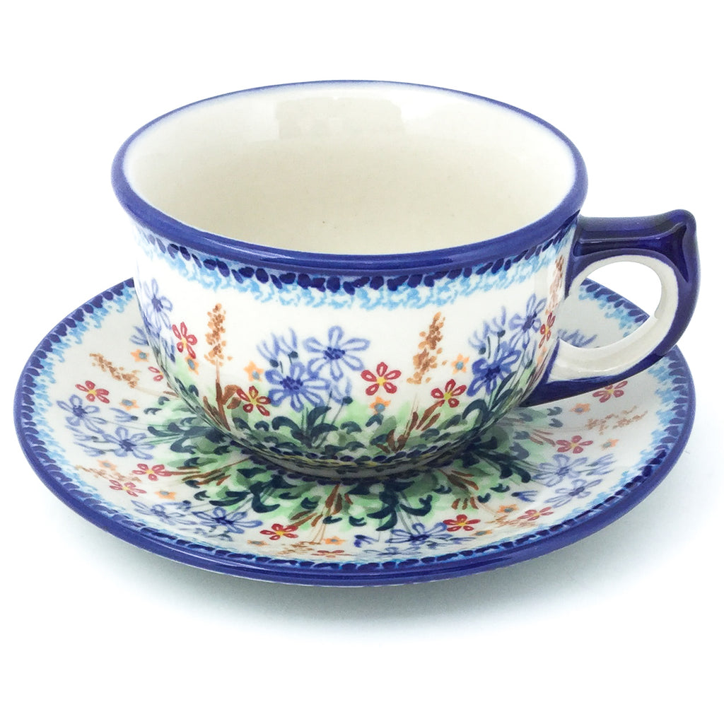 Tea Cup w/Saucer 8 oz in Country Spring