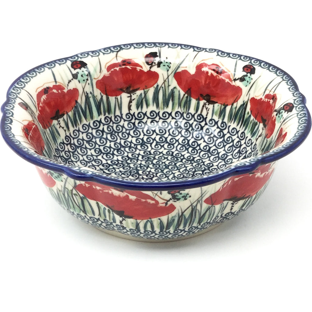 Sm Retro Bowl in Polish Poppies