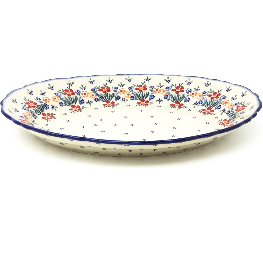 Oval Basia Platter in Delicate Flowers