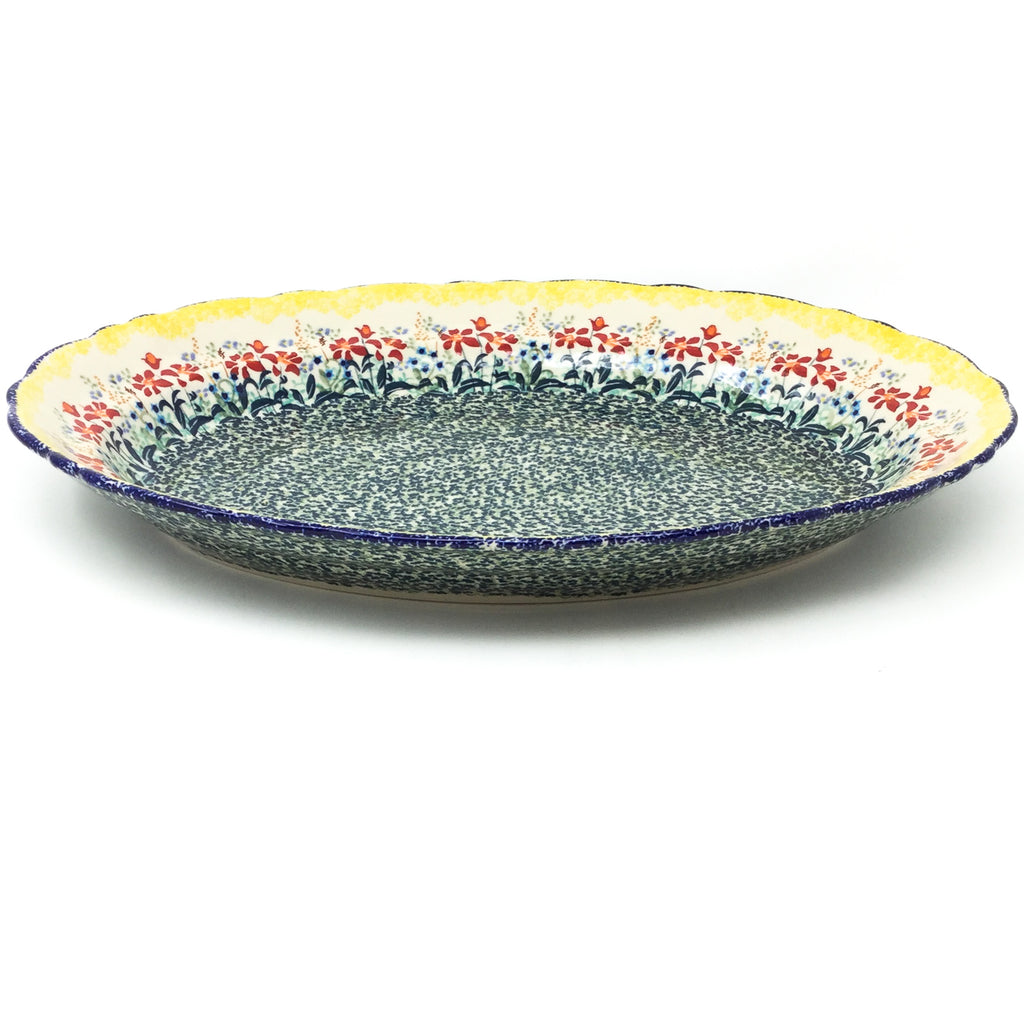 Oval Basia Platter in Country Summer