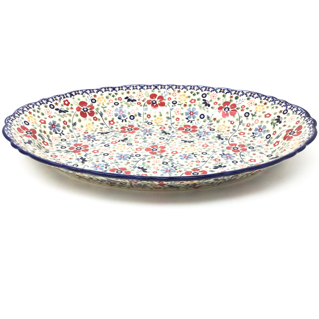 Oval Basia Platter in Summer Arrangement