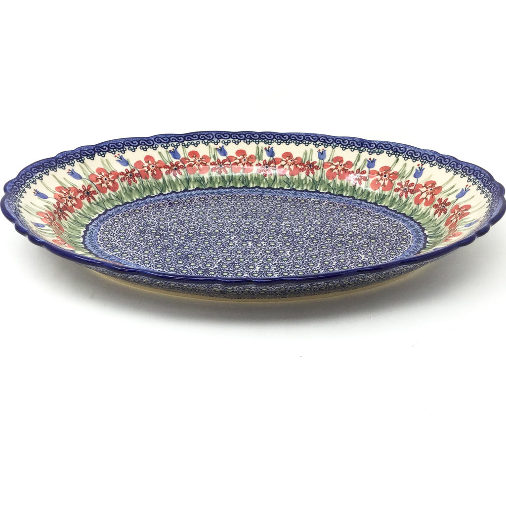Oval Basia Platter in Spring Meadow