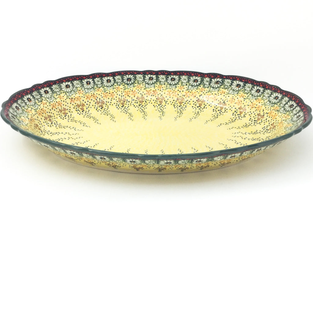 Oval Basia Platter in Cottage Decor