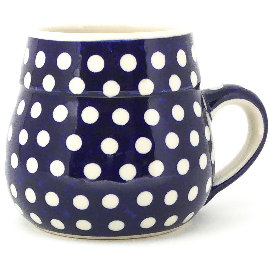 Small Beer Stein 24 oz in White Polka-Dot