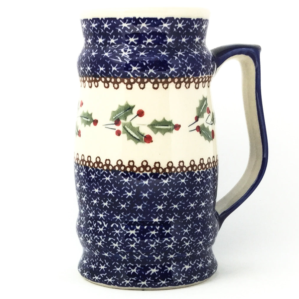 Large Beer Stein 28 oz in Holly