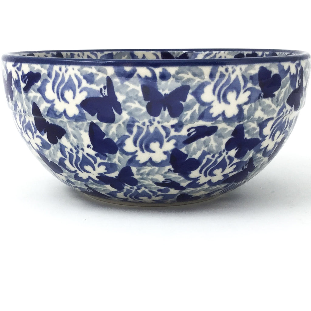 Soup Bowl 24 oz in Blue Butterfly