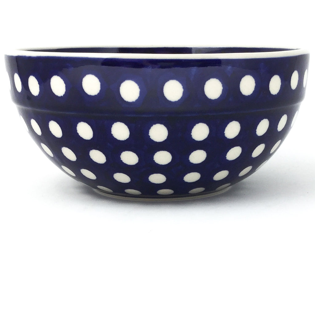Soup Bowl 24 oz in White Polka-Dot