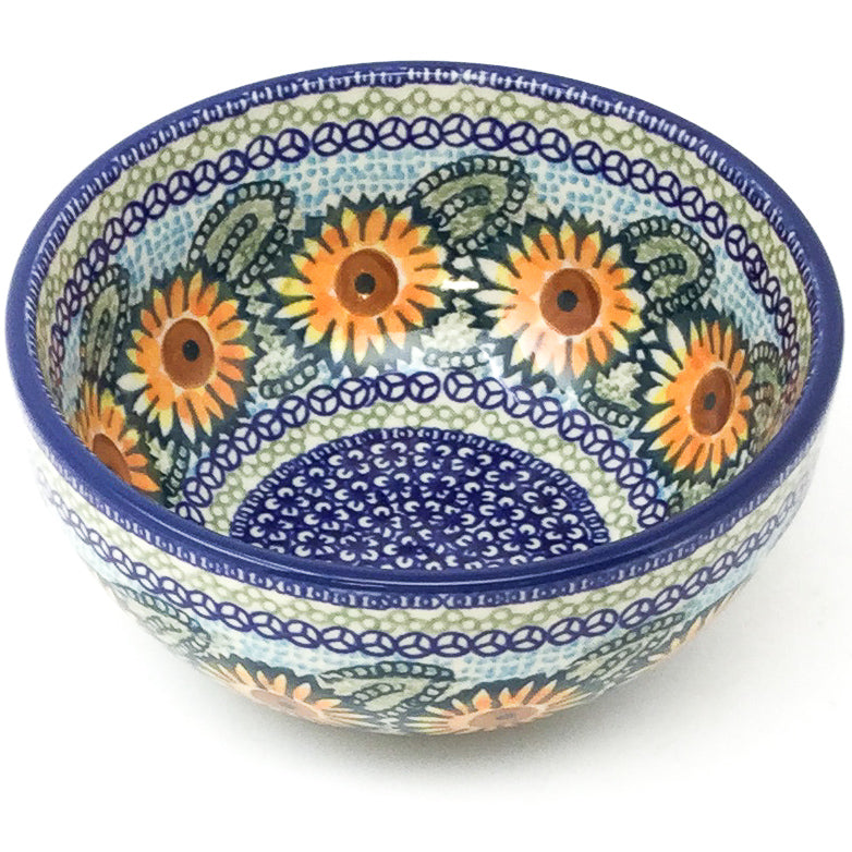 Soup Bowl 24 oz in Sunflowers