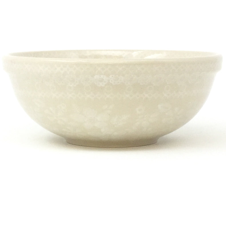 Dessert Bowl 12 oz in White on White