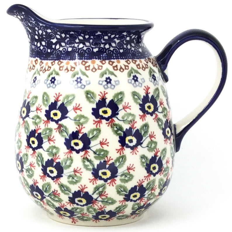 Pitcher 1 qt in Forget-Me-Not
