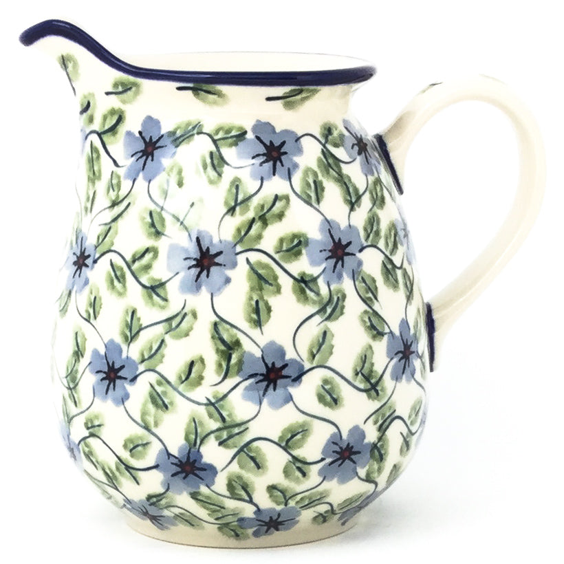 Pitcher 1 qt in Blue Clematis