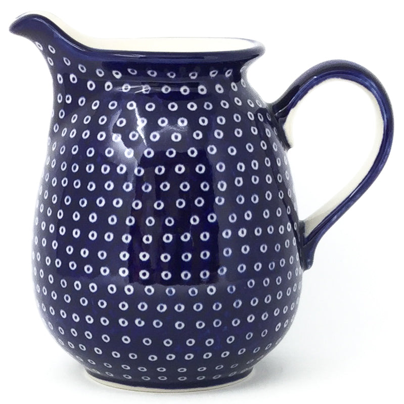 Pitcher 1 qt in Blue Elegance