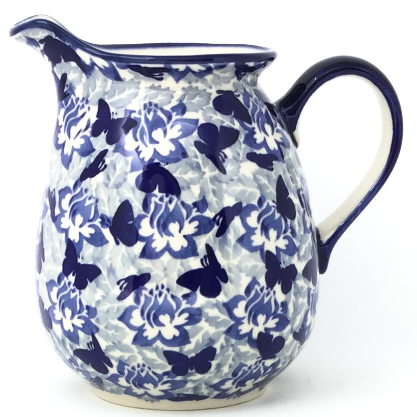Pitcher 1 qt in Blue Butterfly