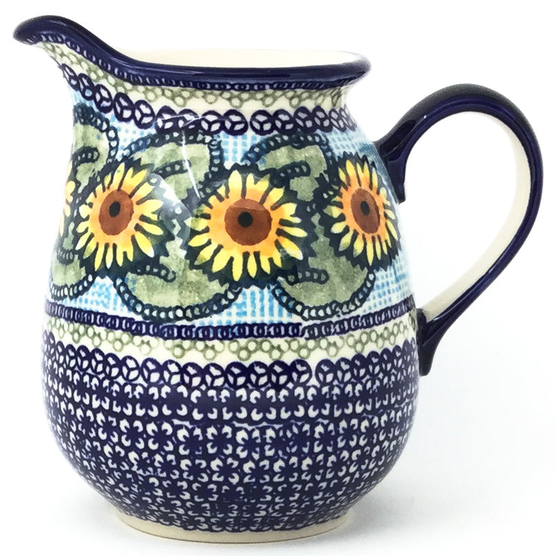 Pitcher 1 qt in Sunflowers