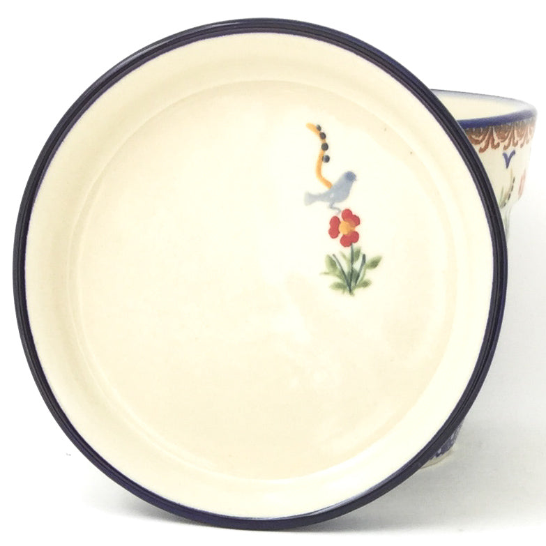 Lg Flower Pot w/Plate in Simply Beautiful