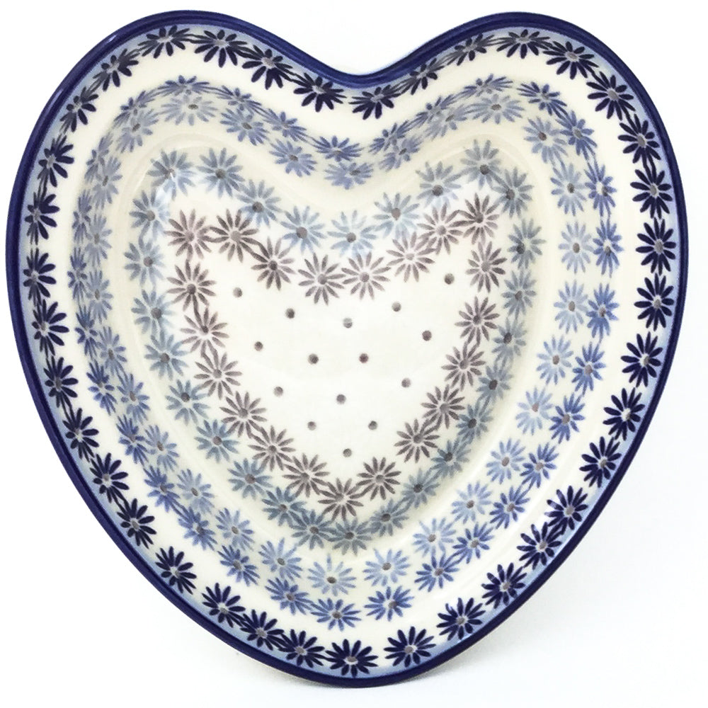 Lg Hanging Heart Dish in All Stars