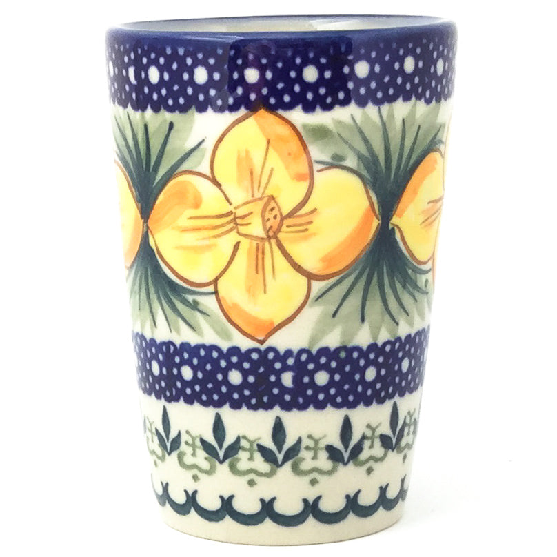 Toothbrush Holder/Cup in Daffodils