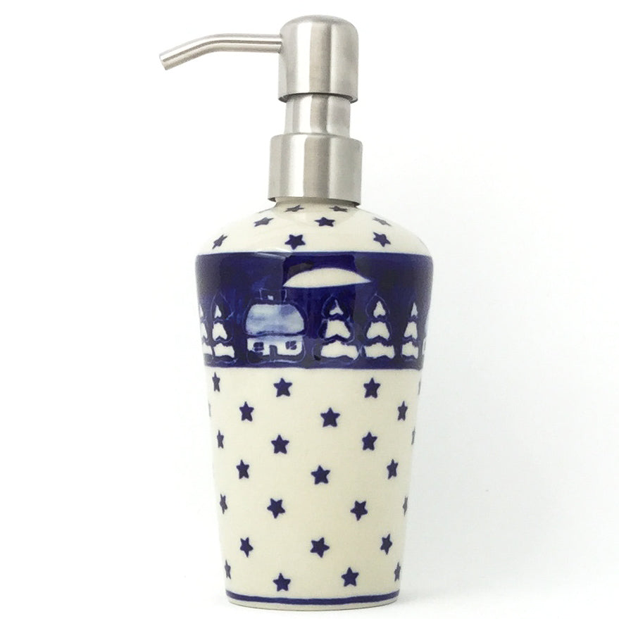 Soap Dispenser in Winter
