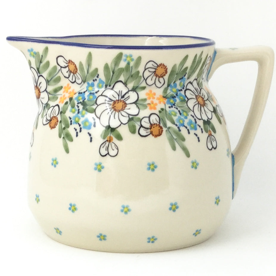 Wide Pitcher 1.7 qt in Spectacular Daisy