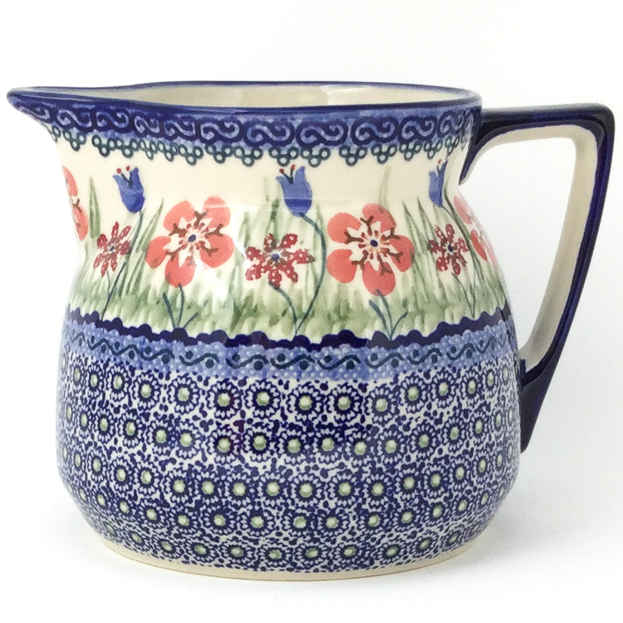 Wide Pitcher 1.7 qt in Spring Meadow
