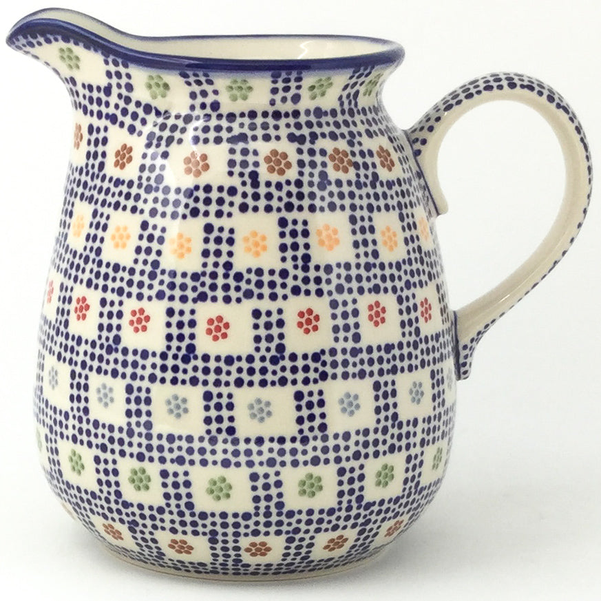 Pitcher 2 qt in Modern Checkers
