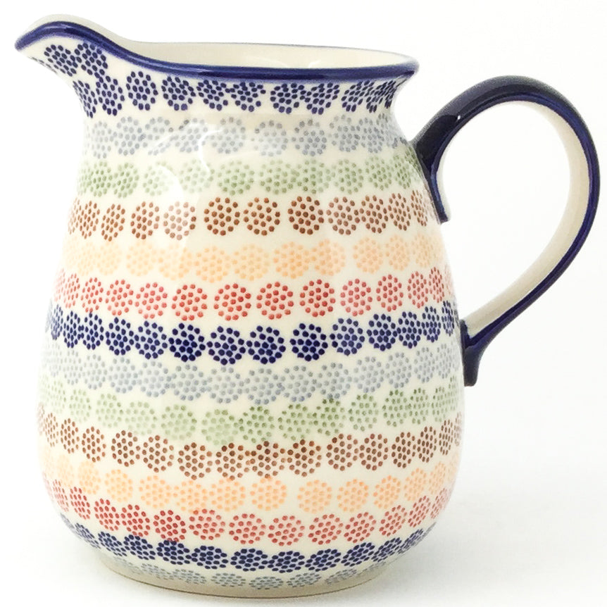 Pitcher 2 qt in Modern Dots